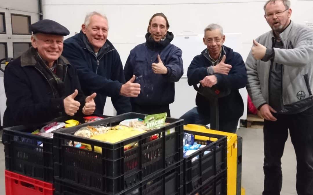 Succesvolle actie voedselbank bij supermarkten