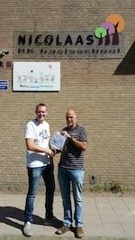 Voedselbank Deventer dankt Nicolaasschool