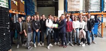 Inzet van Saxion studenten: 4000 euro voor de Voedselbank!