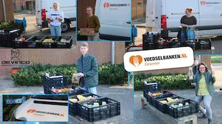 KV Devinco steunt Voedselbank Deventer