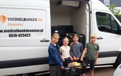 Hovenschool Deventer houdt inzamelingsactie